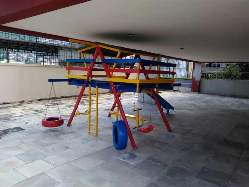 24 - play com parquinho. - Apartamento 2 quartos à venda Lins de Vasconcelos, Rio de Janeiro - R$ 263.000 - MEAP20878 - 25