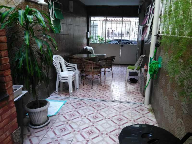4 - VARANDA. - Casa de Vila 3 quartos à venda Lins de Vasconcelos, Rio de Janeiro - R$ 690.000 - MECV30041 - 5
