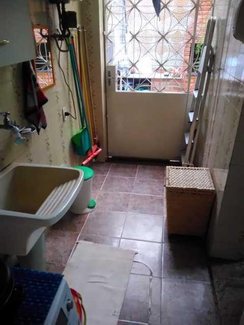 10 - ÁREA DE SERVIÇO. - Casa de Vila 3 quartos à venda Lins de Vasconcelos, Rio de Janeiro - R$ 690.000 - MECV30041 - 11