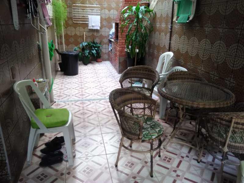 26 - VARANDA. - Casa de Vila 3 quartos à venda Lins de Vasconcelos, Rio de Janeiro - R$ 690.000 - MECV30041 - 27