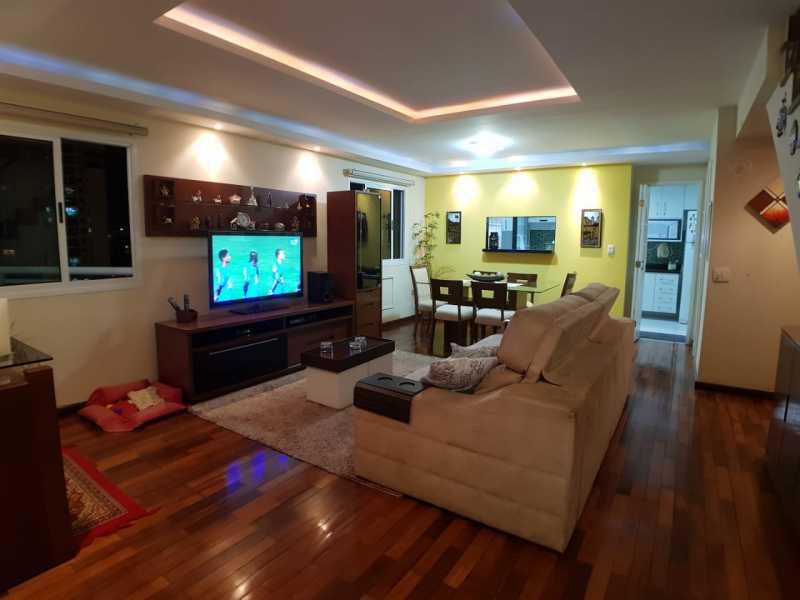 2 - SALA. - Apartamento Barra da Tijuca,Rio de Janeiro,RJ À Venda,3 Quartos,119m² - FRAP30548 - 3
