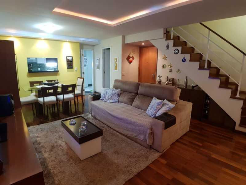 3 - SALA. - Apartamento Barra da Tijuca,Rio de Janeiro,RJ À Venda,3 Quartos,119m² - FRAP30548 - 4