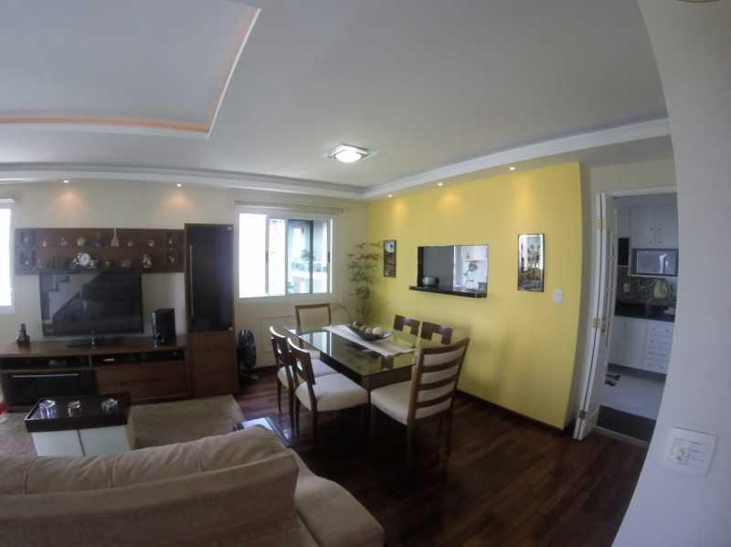 4 - SALA. - Apartamento Barra da Tijuca,Rio de Janeiro,RJ À Venda,3 Quartos,119m² - FRAP30548 - 5