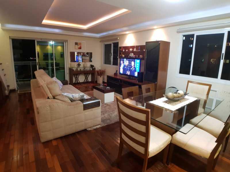 5 - SALA. - Apartamento Barra da Tijuca,Rio de Janeiro,RJ À Venda,3 Quartos,119m² - FRAP30548 - 6