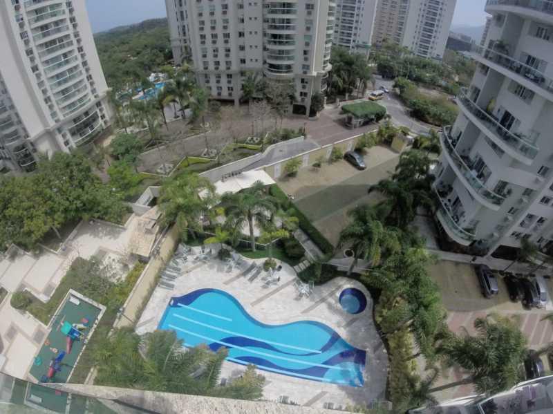 19 - VISTA DO CONDOMÍNIO. - Apartamento Barra da Tijuca,Rio de Janeiro,RJ À Venda,3 Quartos,119m² - FRAP30548 - 20