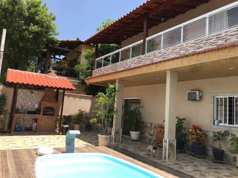 fachada - Casa 5 quartos à venda Tanque, Rio de Janeiro - R$ 820.000 - FRCA50010 - 3