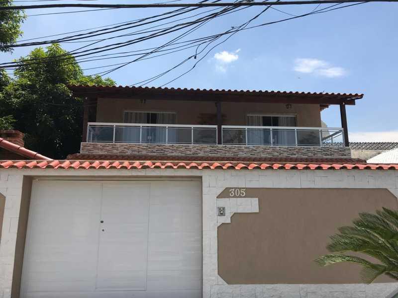 muro - Casa 5 quartos à venda Tanque, Rio de Janeiro - R$ 820.000 - FRCA50010 - 11