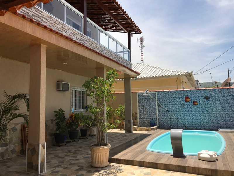 piscina - Casa 5 quartos à venda Tanque, Rio de Janeiro - R$ 820.000 - FRCA50010 - 4