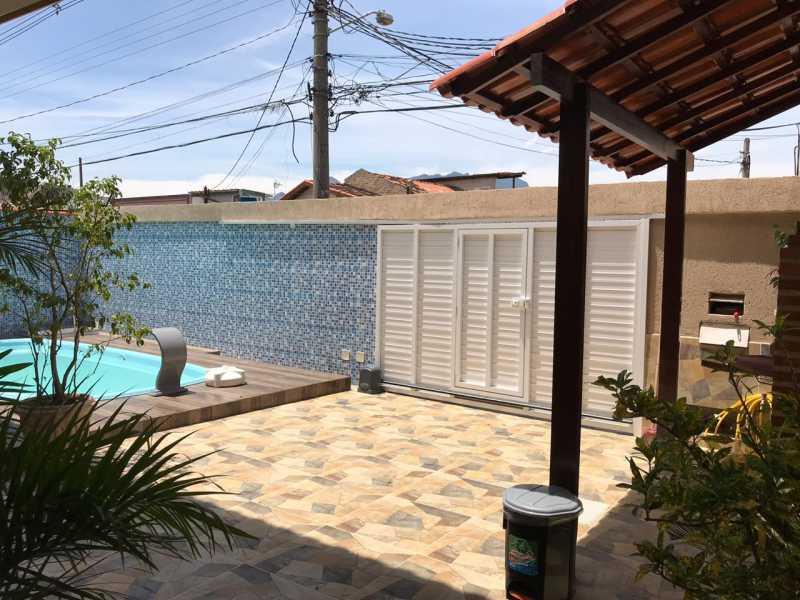 quintal frente - Casa 5 quartos à venda Tanque, Rio de Janeiro - R$ 820.000 - FRCA50010 - 6