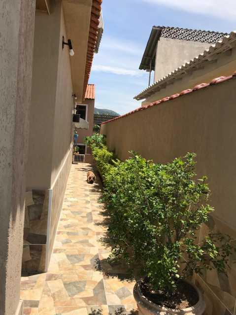 quintal lateral - Casa 5 quartos à venda Tanque, Rio de Janeiro - R$ 820.000 - FRCA50010 - 12