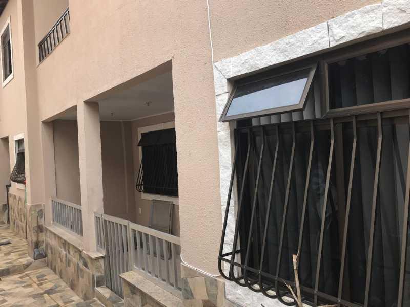 varanda lateral - Casa 5 quartos à venda Tanque, Rio de Janeiro - R$ 820.000 - FRCA50010 - 13