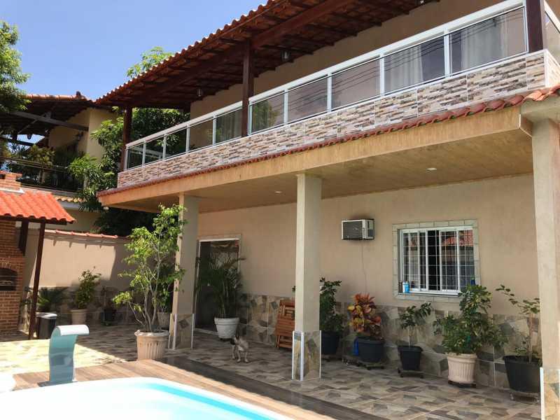 varanda - Casa 5 quartos à venda Tanque, Rio de Janeiro - R$ 820.000 - FRCA50010 - 5