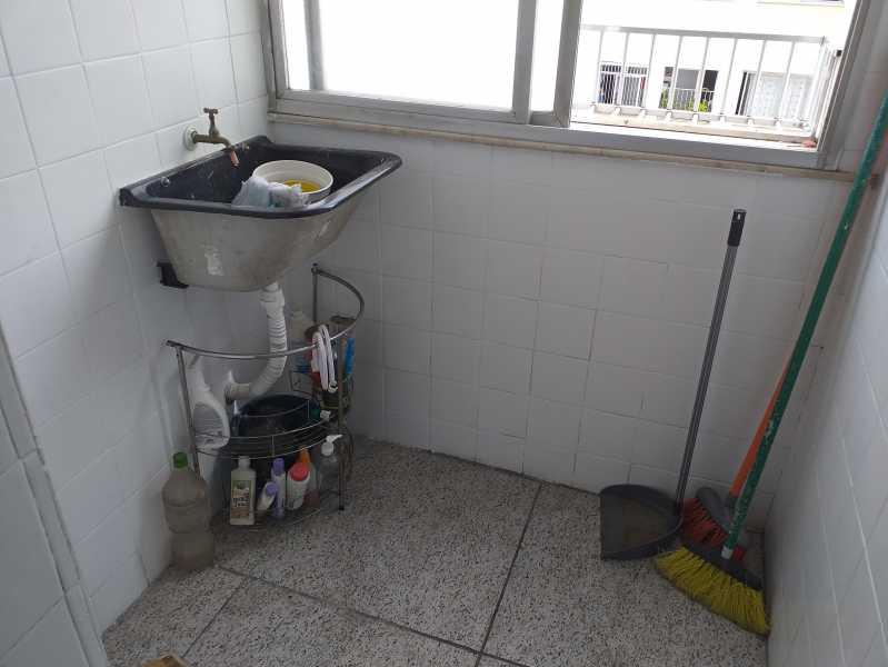 20 - ÁREA DE SERVIÇO - Apartamento Engenho Novo, Rio de Janeiro, RJ À Venda, 3 Quartos, 55m² - MEAP30300 - 21