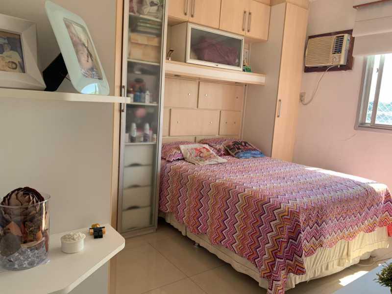 qto plan - Cobertura Praça Seca, Rio de Janeiro, RJ À Venda, 2 Quartos, 105m² - FRCO20050 - 8