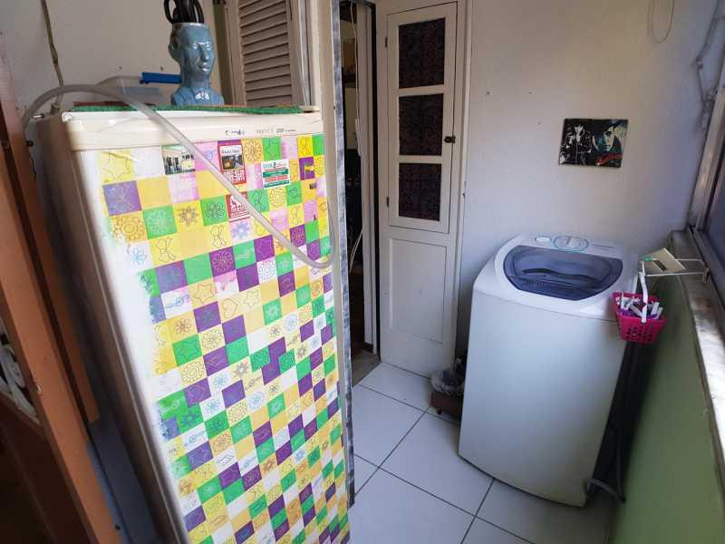 9 - ÁREA DE SERVIÇO. - Apartamento Santa Teresa,Rio de Janeiro,RJ À Venda,1 Quarto,35m² - MEAP10137 - 12
