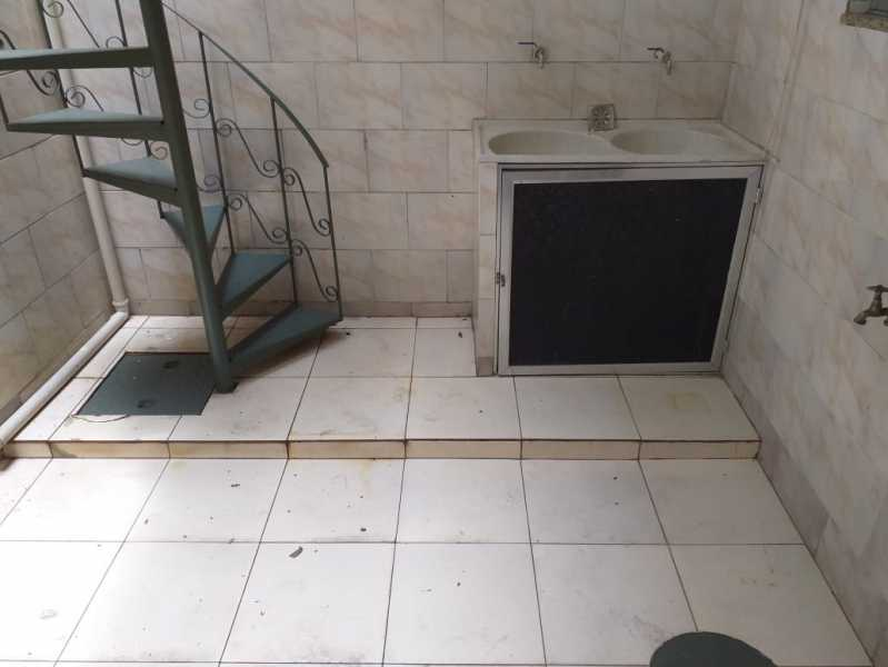 8 - ÁREA DE SERVIÇO. - Casa de Vila Para Alugar - Méier - Rio de Janeiro - RJ - MECV30047 - 9