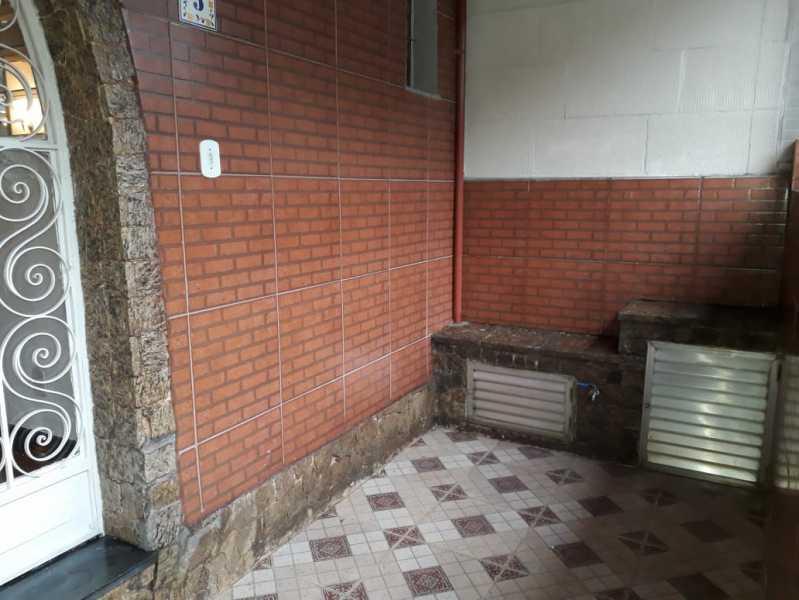 19 - VARANDA. - Casa de Vila Para Alugar - Méier - Rio de Janeiro - RJ - MECV30047 - 20