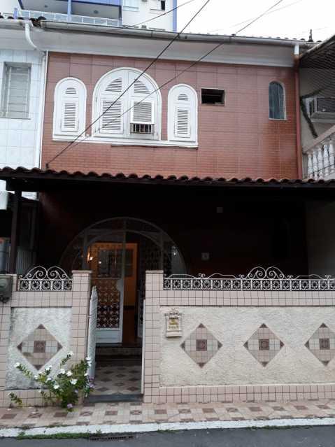 20 - FACHADA. - Casa de Vila Para Alugar - Méier - Rio de Janeiro - RJ - MECV30047 - 21