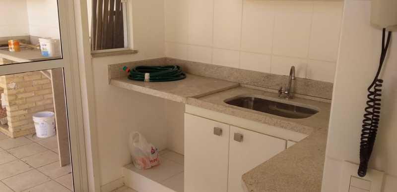 cozinha e churrasq - Cobertura Pechincha,Rio de Janeiro,RJ À Venda,3 Quartos,103m² - FRCO30153 - 15