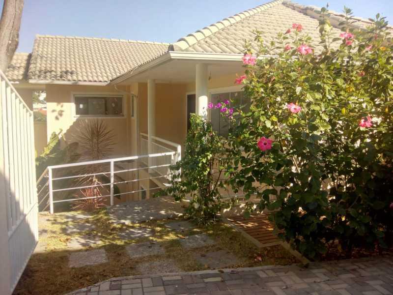 frente casa - Casa em Condomínio 3 quartos à venda Pechincha, Rio de Janeiro - R$ 680.000 - FRCN30154 - 1