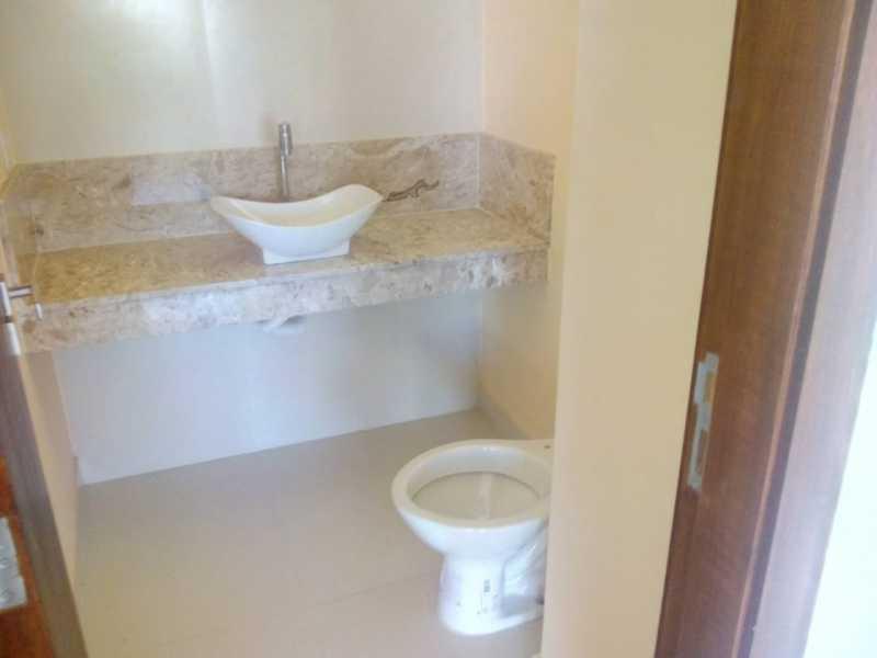 lavabo - Casa em Condomínio 3 quartos à venda Pechincha, Rio de Janeiro - R$ 680.000 - FRCN30154 - 19