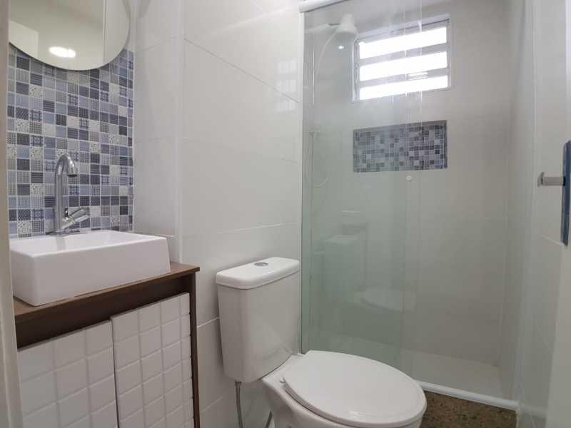 8 - BANHEIRO SOCIAL. - Apartamento À Venda - Vargem Pequena - Rio de Janeiro - RJ - FRAP10090 - 9