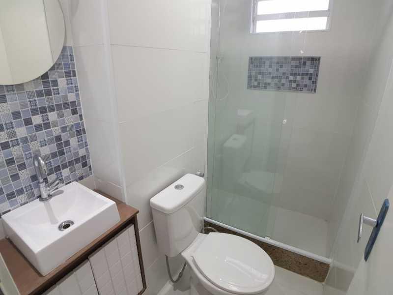 9 - BANHEIRO SOCIAL. - Apartamento À Venda - Vargem Pequena - Rio de Janeiro - RJ - FRAP10090 - 10