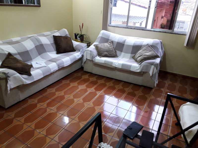 3 - Casa de Vila 4 quartos à venda Piedade, Rio de Janeiro - R$ 300.000 - MECV40017 - 1