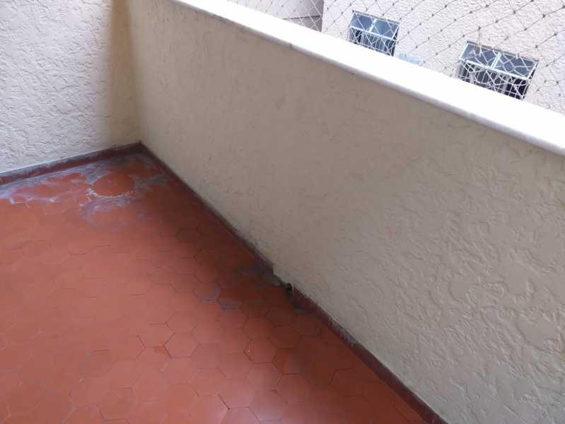 2 - varanda. - Apartamento 2 quartos à venda Engenho de Dentro, Rio de Janeiro - R$ 219.000 - MEAP20945 - 6