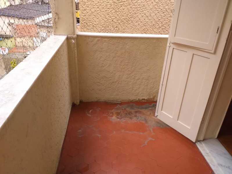 3 - varanda. - Apartamento 2 quartos à venda Engenho de Dentro, Rio de Janeiro - R$ 219.000 - MEAP20945 - 7