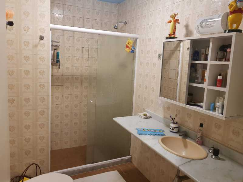 5 - BANHEIRO SOCIAL. - Apartamento Botafogo,Rio de Janeiro,RJ À Venda,2 Quartos,69m² - MEAP20956 - 7