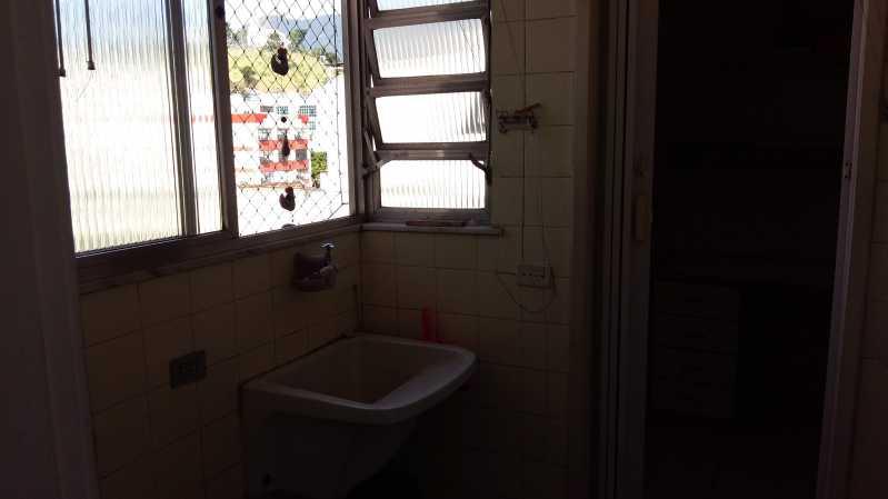 17 - Area Servico - Apartamento 2 quartos à venda Vila Isabel, Rio de Janeiro - R$ 430.000 - MEAP20958 - 18
