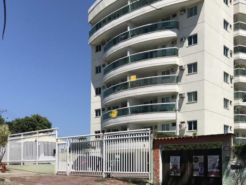 01 - Apartamento Pechincha,Rio de Janeiro,RJ Para Alugar,3 Quartos,81m² - FRAP30586 - 1