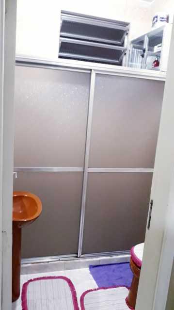 8 - BANHEIRO SOCIAL. - Apartamento 2 quartos à venda Engenho de Dentro, Rio de Janeiro - R$ 250.000 - MEAP20963 - 9