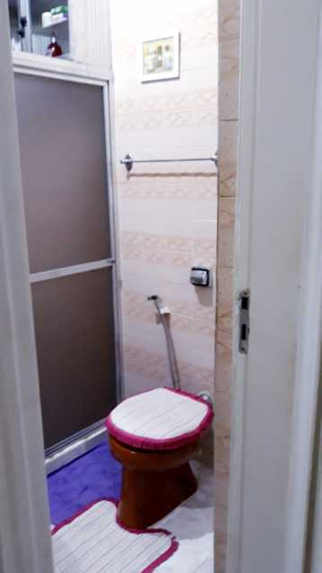 9 - BANHEIRO SOCIAL. - Apartamento 2 quartos à venda Engenho de Dentro, Rio de Janeiro - R$ 250.000 - MEAP20963 - 10