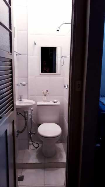 15 - BANHEIRO SERVIÇO. - Apartamento 2 quartos à venda Engenho de Dentro, Rio de Janeiro - R$ 250.000 - MEAP20963 - 16
