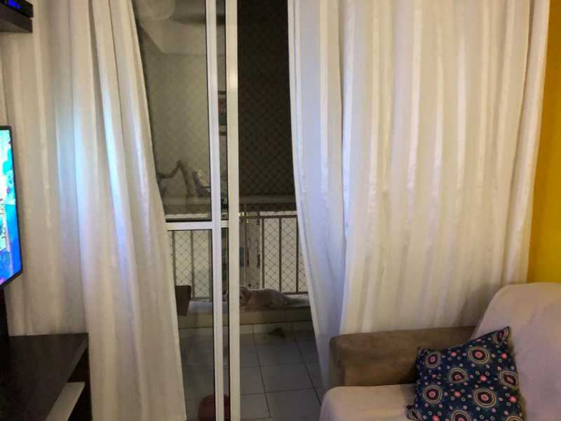 1 - SALA COM VARANDA. - Apartamento À Venda - Cachambi - Rio de Janeiro - RJ - MEAP20965 - 3