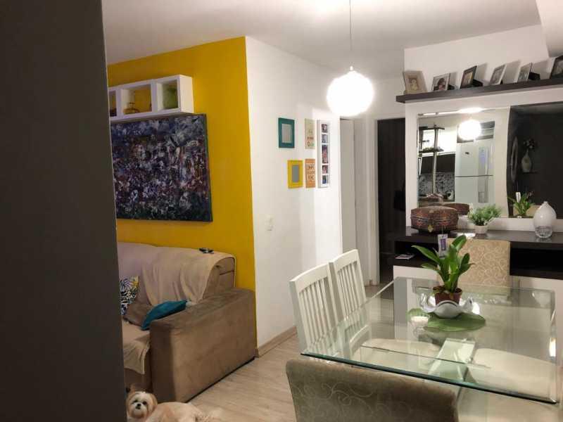 4 - SALA. - Apartamento À Venda - Cachambi - Rio de Janeiro - RJ - MEAP20965 - 1