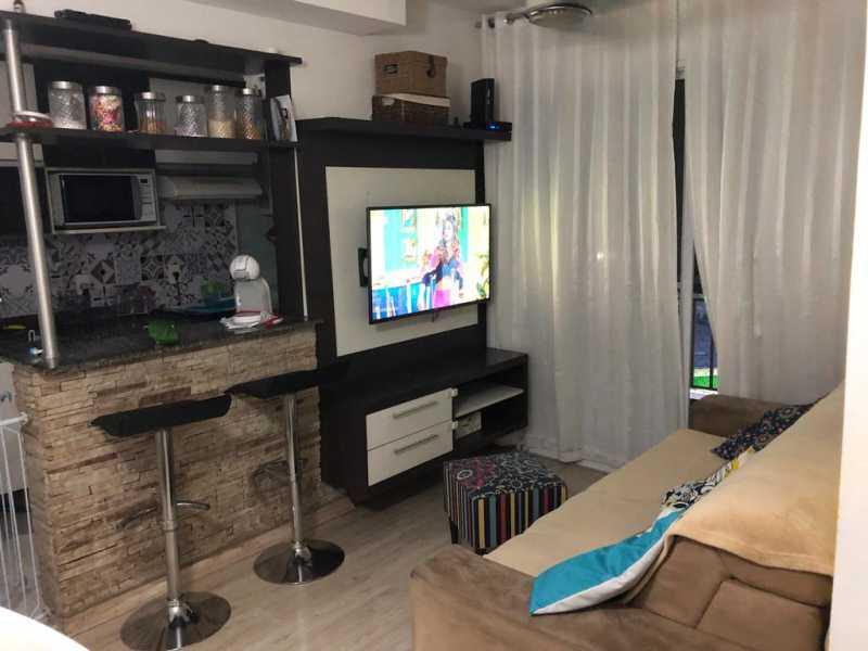 5 - SALA. - Apartamento À Venda - Cachambi - Rio de Janeiro - RJ - MEAP20965 - 6