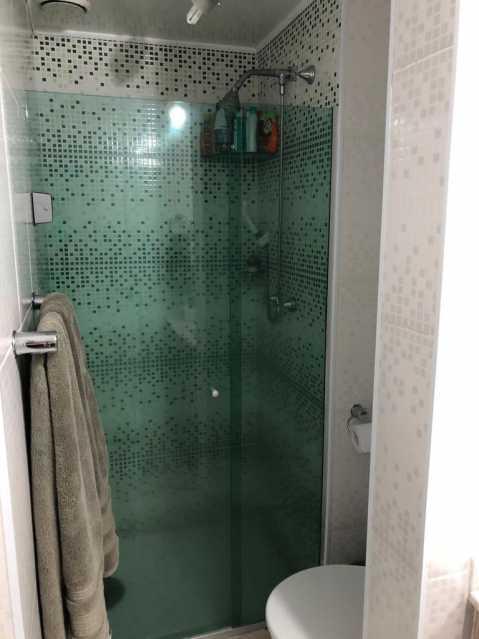 7 - BANHEIRO SOCIAL. - Apartamento À Venda - Cachambi - Rio de Janeiro - RJ - MEAP20965 - 13