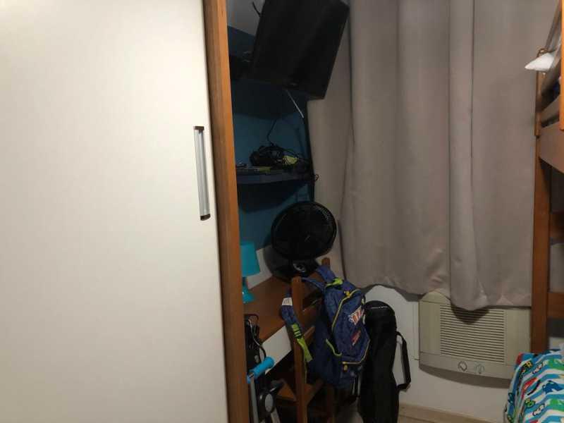 10 - QUARTO 1. - Apartamento À Venda - Cachambi - Rio de Janeiro - RJ - MEAP20965 - 12