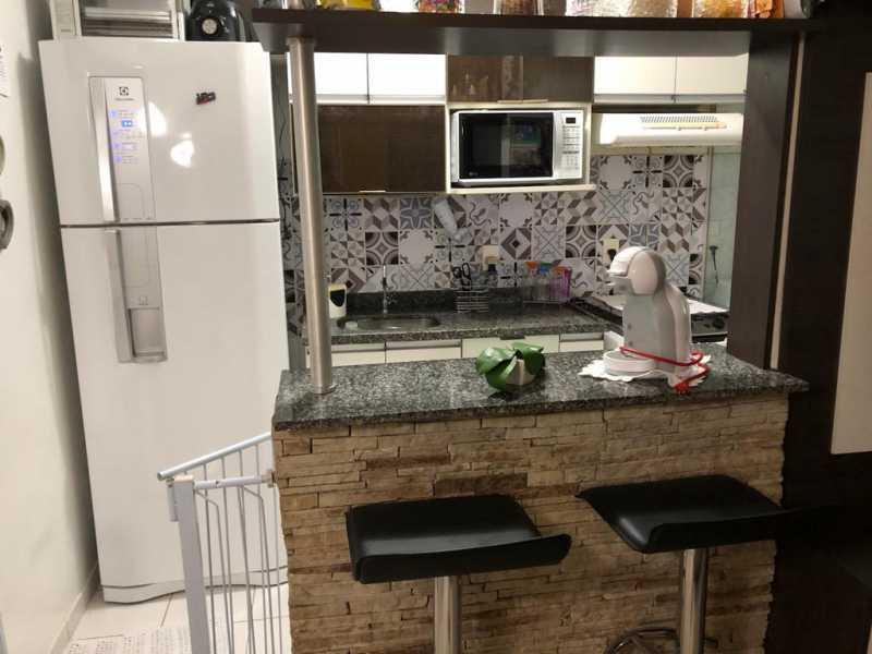 16 - COZINHA AMERICANA. - Apartamento À Venda - Cachambi - Rio de Janeiro - RJ - MEAP20965 - 17