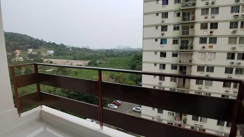 1 - VARANDA. - Apartamento 2 quartos à venda Itanhangá, Rio de Janeiro - R$ 190.000 - FRAP21468 - 1