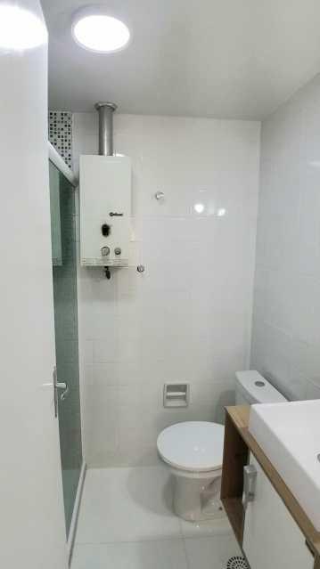 10 - BANHEIRO SOCIAL. - Apartamento 2 quartos à venda Itanhangá, Rio de Janeiro - R$ 190.000 - FRAP21468 - 11
