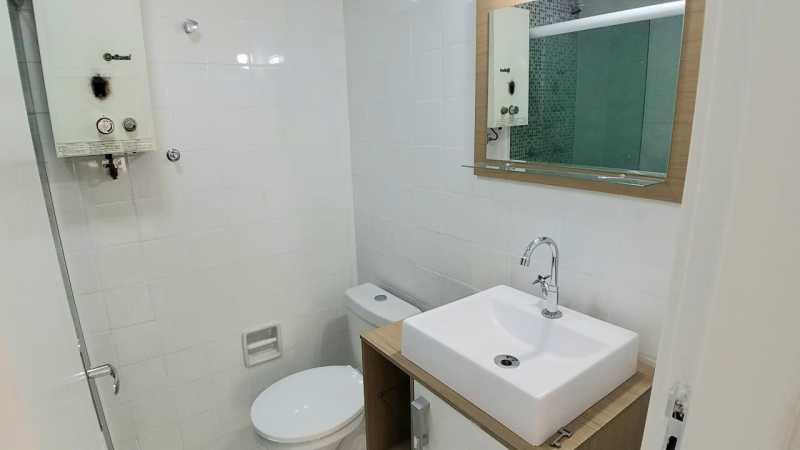 11 - BANHEIRO SOCIAL. - Apartamento 2 quartos à venda Itanhangá, Rio de Janeiro - R$ 190.000 - FRAP21468 - 12