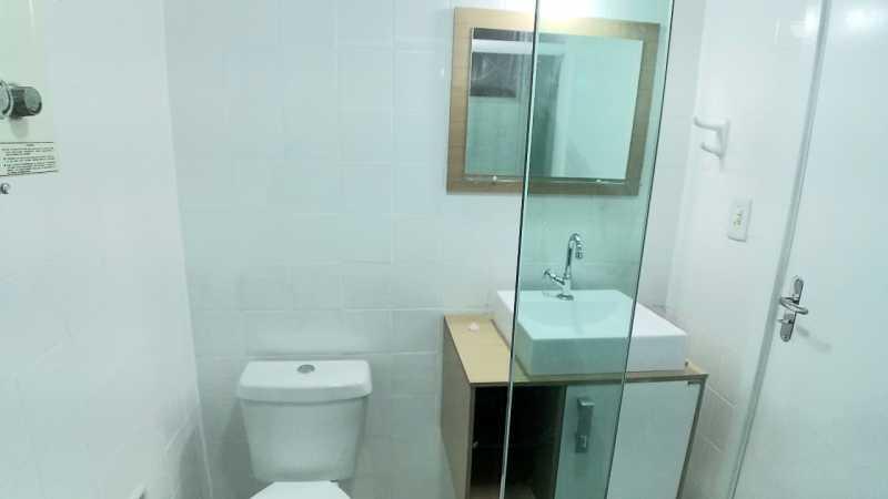 12 - BANHEIRO SOCIAL. - Apartamento 2 quartos à venda Itanhangá, Rio de Janeiro - R$ 190.000 - FRAP21468 - 13