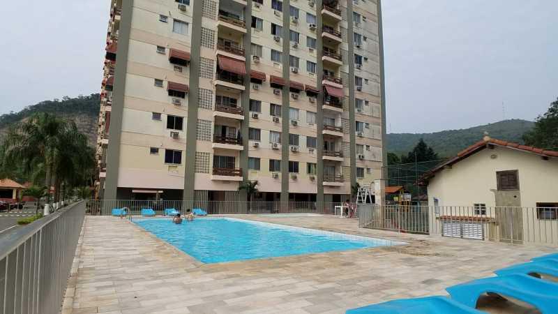 19 - PISCINA. - Apartamento 2 quartos à venda Itanhangá, Rio de Janeiro - R$ 190.000 - FRAP21468 - 20