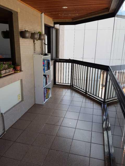 1 - VARANDA. - Apartamento Grajaú,Rio de Janeiro,RJ À Venda,2 Quartos,104m² - MEAP20973 - 1