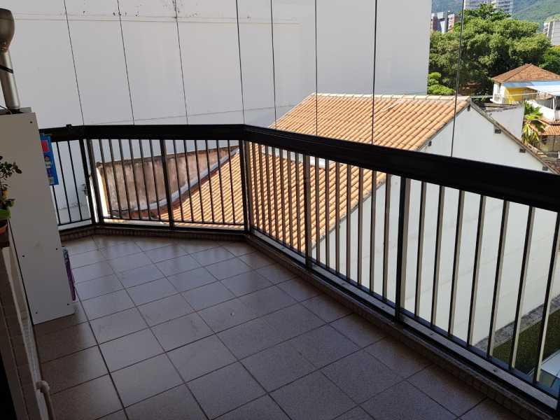 2 - VARANDA. - Apartamento Grajaú,Rio de Janeiro,RJ À Venda,2 Quartos,104m² - MEAP20973 - 4