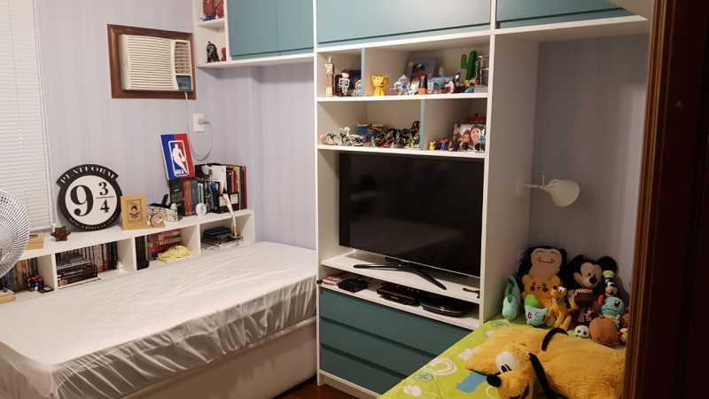 7 - QUARTO 1. - Apartamento Grajaú,Rio de Janeiro,RJ À Venda,2 Quartos,104m² - MEAP20973 - 8